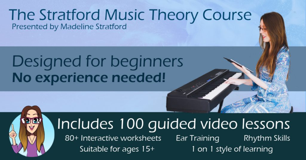 stratford music theory course online learn easy beginners
